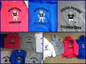 Apparel order forms due @ Indian Prairie Elementary