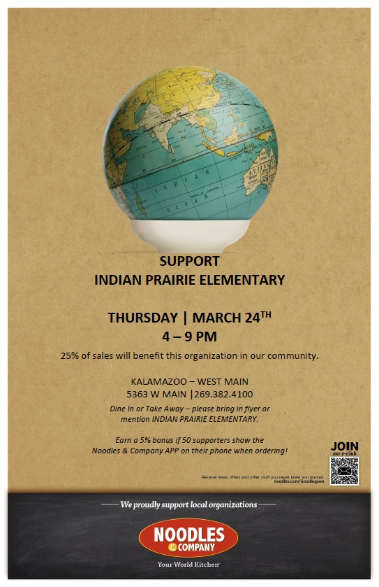Noodles fundraiser - Indian Prairie PTO