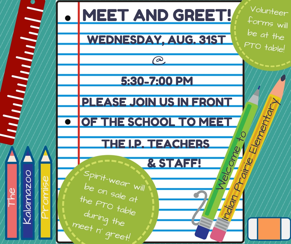 2016 Meet the Teacher Night!